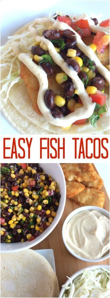 Easy fish tacos recipe easy fish tacos and fish for Fish tacos recipe easy