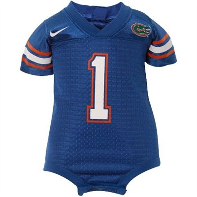 Nike Florida Gators Royal Blue Infant Replica Football Jersey Creeper-- going to need this!