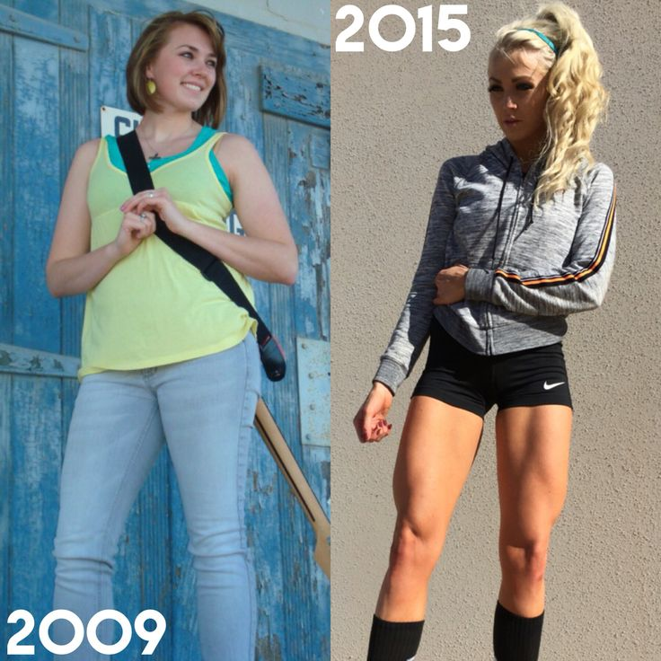Not given, earned. 170lbs vs. 134lbs Weight Lifting ... Brittany Dawn Fitness