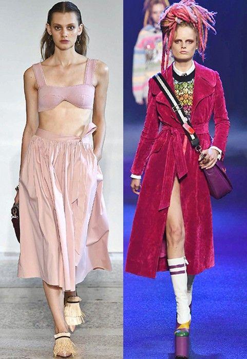 Tendenze primavera estate 2017: il colore rosa la fa da padrone nei fashion trends.