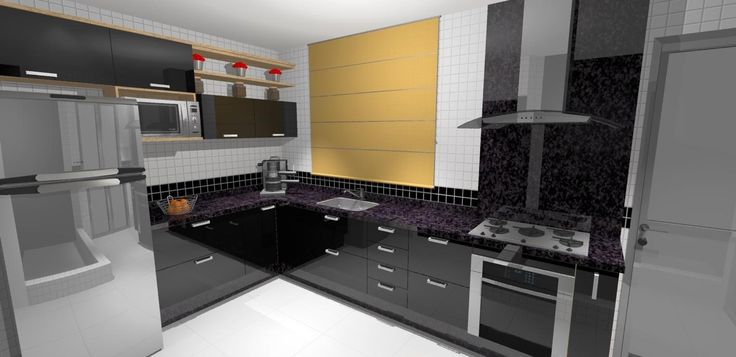 55 Cozinhas em L - Fotos e Ideias Lindas