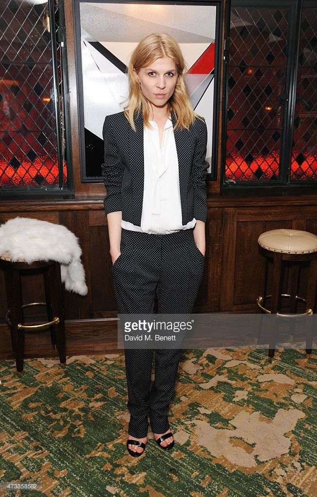 Clemence Poesy attends the 'Icons of Style' dinner hosted by Michael Kors and Vanity Fair on May 14, 2015 in London, United Kingdom.