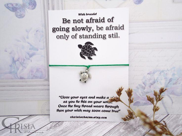http://etsy.me/2Dw3DdS: Turtle Wish Bracelet, Wish Bracelet, Friendship Bracelet, Turtle Bracelet, Charm Bracelets, Turtle Charm, Sea Turtle, Make a Wish Bracelet  #chrisiacharms #etsy #charmbracelets #wishbracelets #jewelry #bracelet #animals #turtlebracelets