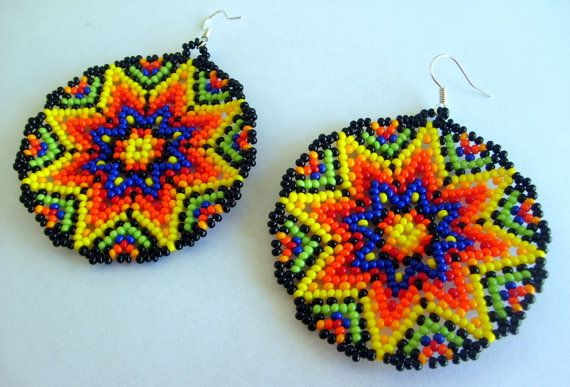 17 best images about flores huichol on beaded