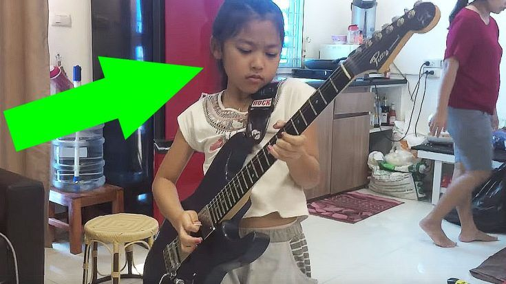 """After Nailing The Solo To """"Stairway To Heaven"""", Keep Your Eye On The Face She Makes!"""