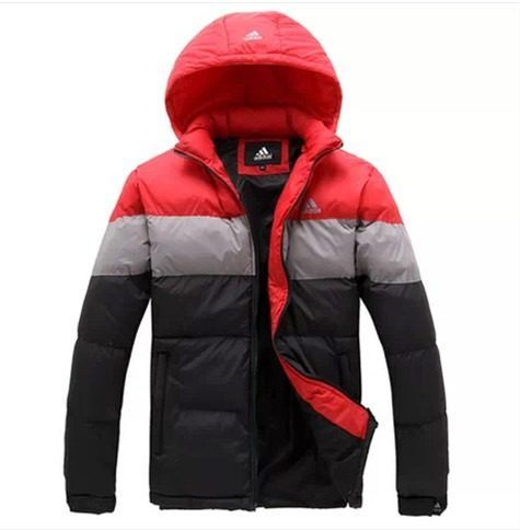 jaqueta masculina adidas impermeável original - frete grátis