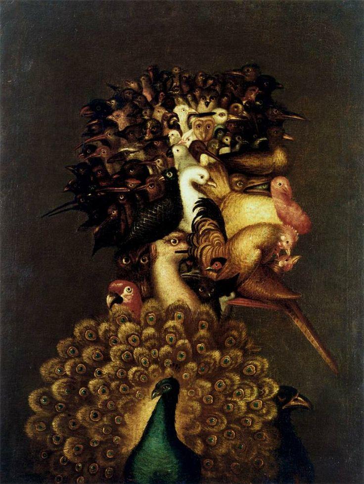 Air - Giuseppe Arcimboldo - 1566