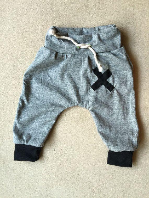 Adorable harem baby boy pants