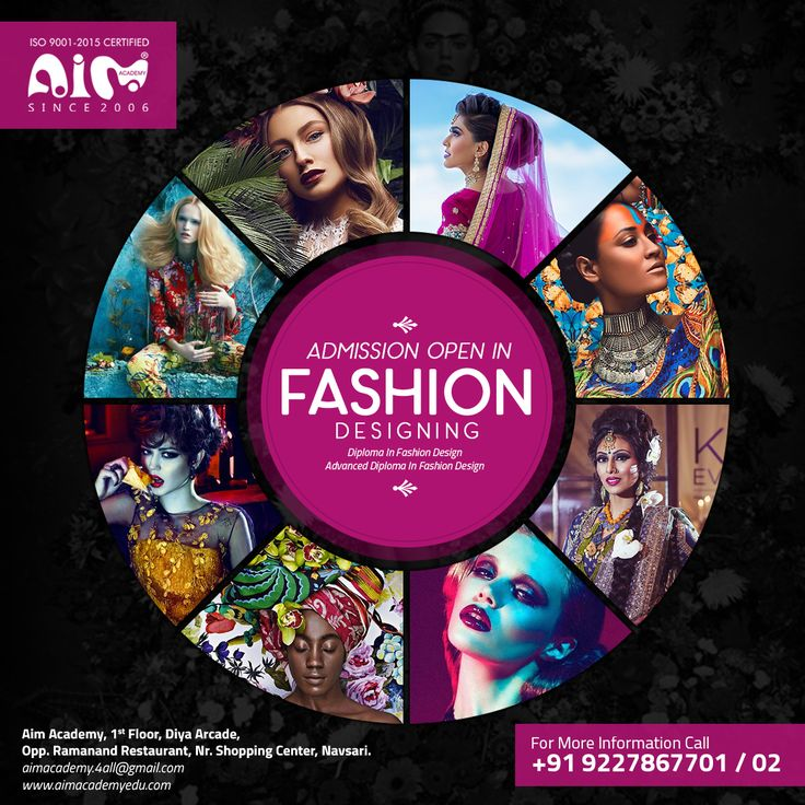 Learn and get the best Fashion Designing Institute in Navsari, Gujarat, INDIA. #fashion #design #education