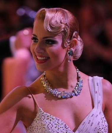 Awe Inspiring 1000 Ideas About Ballroom Dance Hair On Pinterest Ballroom Hair Short Hairstyles Gunalazisus