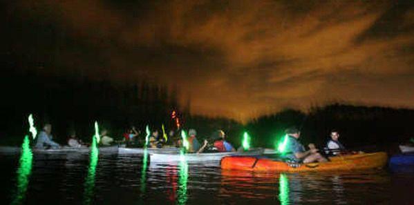 Bioluminescent Kayak Tour at Merritt Island - Orlando Date Night Guide