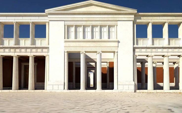 Macedonian Palace, ancient Aegai (Vergina) Macedonia Greece
