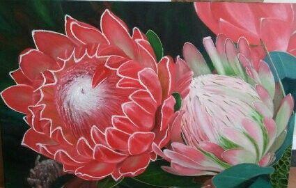Painting by Rienie van Zyl