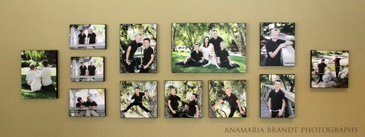 12 Canvases from our Clients Home  Ana Brandt Photography  Click image for blog post