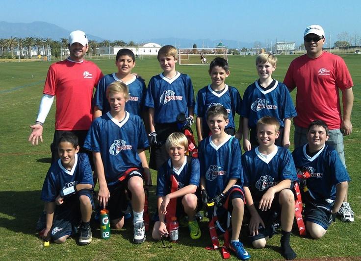 i9 Flag Football Champs (U15). An undefeated season. Great