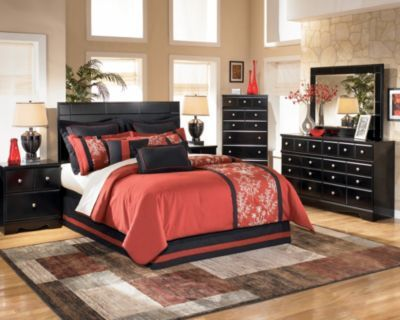 Ashley Shay 4-Piece Queen Headboard Bedroom Set