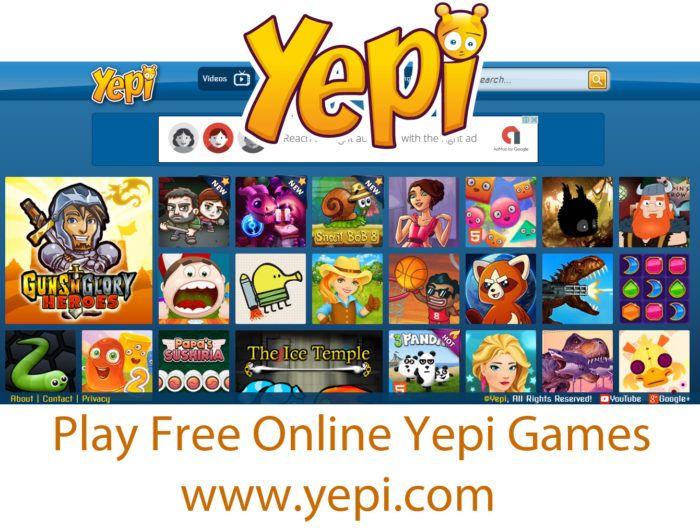 Yepi - Play Free Online Yepi Games   www.yepi.com - TrendEbook