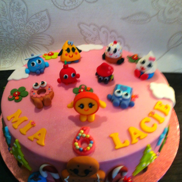 Moshi Monsters Birthday Cake! Yum!