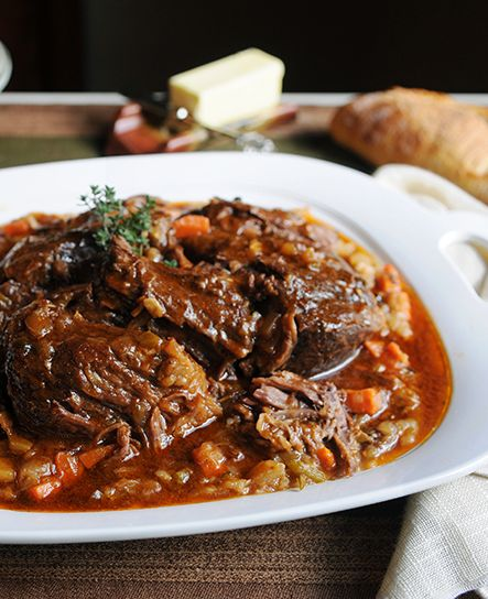 Nothing says comfort food like a perfectly tender pot roast with a pile of mashed potatoes.