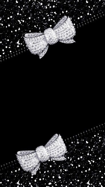 Bow Wallpaper Glitter Cellphone Mobile Iphone Backgrounds Wallpapers For