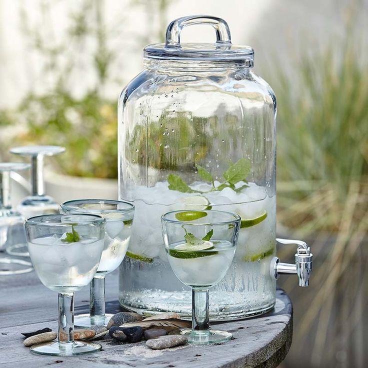 glas karaffe mit zapfhahn icecold gro 8 5 liter von house doct wg pinterest. Black Bedroom Furniture Sets. Home Design Ideas