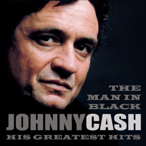 Johnny Cash Johnny Cash - The Man in Black: His Greatest Hits Album Cover