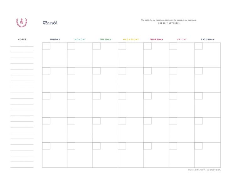 Monthly Sheet Calendar : Ideas about monthly planner printable on pinterest