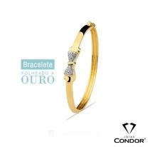 Bracelete laço Joias Condor.