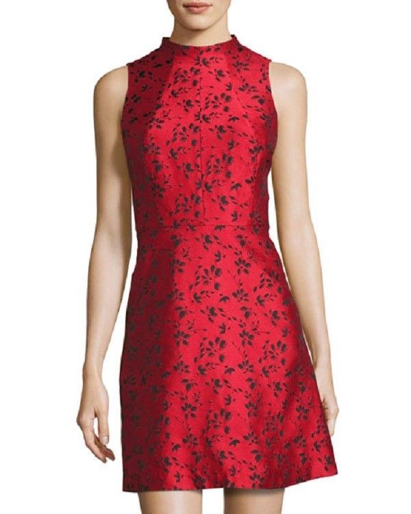 ef3b936f71 Kensie Floral-Print Fit   Flare Dress Red Size X-Large  fashion  clothing   shoes  accessories  womensclothing  dresses (ebay link)
