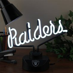 Oakland Raiders Script Neon Light