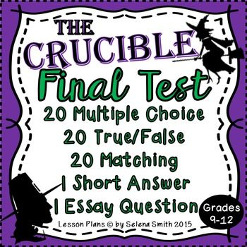 Crucible final test ready to print and go
