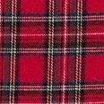 Stoff & Stil - Skotskrutet bomull, rød/natur/grønn