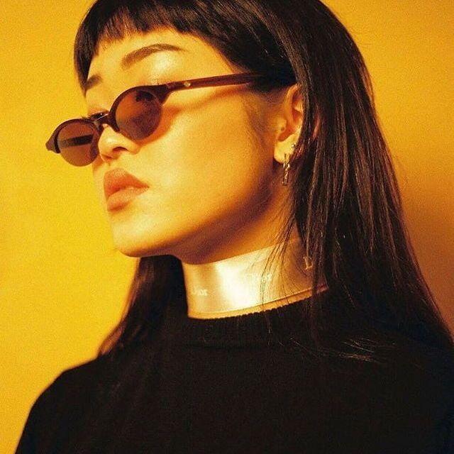 Choker and shades 👌🏼 @_maybe_yes_maybe_no