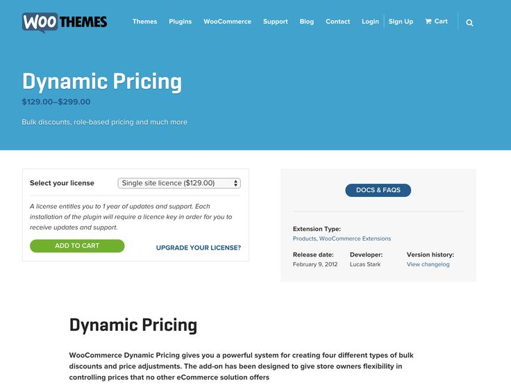 Dynamic Pricing for #woocommerce http://www.woothemes.com/products/dynamic-pricing/