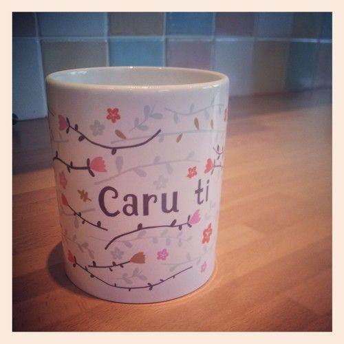 'Caru ti' Mug - Designed in Wales - £7.99
