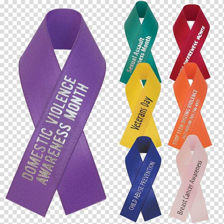 Awareness Ribbon Yellow Ribbon Red Ribbon Ribbon Material Transparent Background Png Clipart Awareness Ribbons Red Ribbon Transparent Background