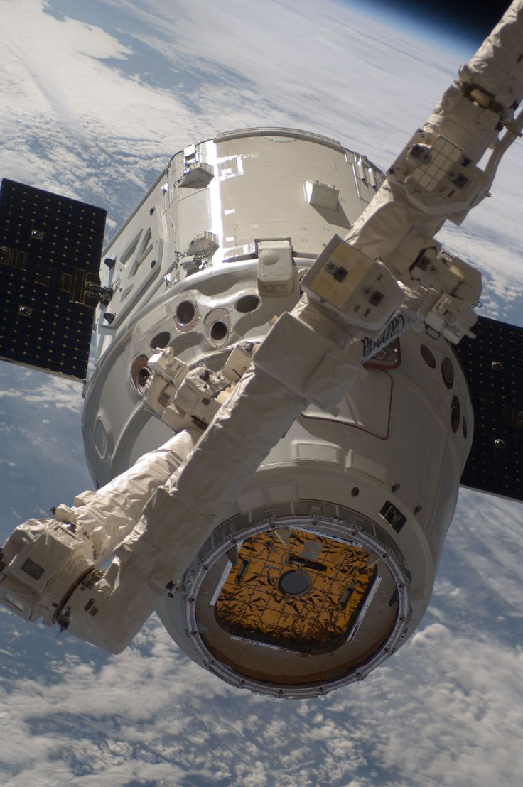 The SpaceX Dragon commercial cargo craft
