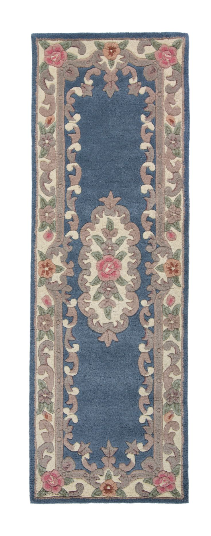 cool Blue Traditional Wool Hall Runner Rug Imperial 67x210 Check more at http://hasiera.co.uk/s/rugs/product/blue-traditional-wool-hall-runner-rug-imperial-67x210/