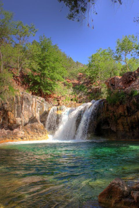 For those that think AZ is just desert. These are the places I go. Fossil Creek.