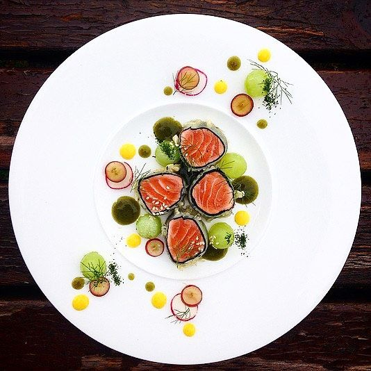 Foodstar Malcom Campbell (@malkie_) shared a new picture via Foodstarz PLUS /// Salmon Tempura  #salmon #tempura #radish #fish #plating #foodstarz  If you also want to get featured on Foodstarz just join us create your own chef profile for free and start sharing recipes and images.  Foodstarz - Your International Premium Chef Network by foodstarz_official