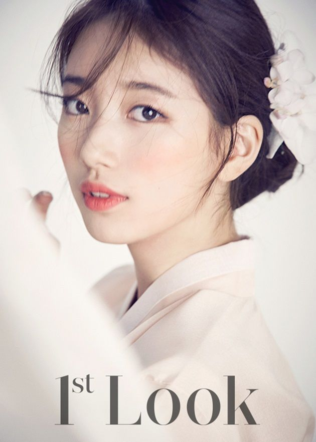 Suzy Is Radiant in Hanbok Pictorial for First Look Magazine