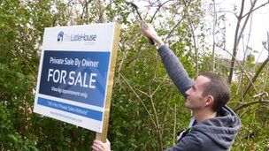 Private house sales are made easier with for sale signs BBC