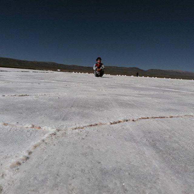 En el desierto blanco😎 Pd: volviendo a geder en el insta, me extrañaron?  #salinas #jujuy #desert #roadtrip #montereylocals #salinaslocals- posted by Gon https://www.instagram.com/gonnluna - See more of Salinas, CA at http://salinaslocals.com