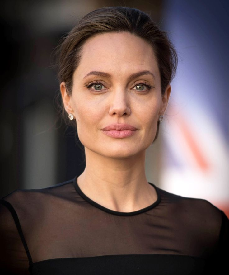 Angelina Jolie Perfects the Art of Power Dressing in a Sheer Black Dress for Her UN Speech from InStyle.com