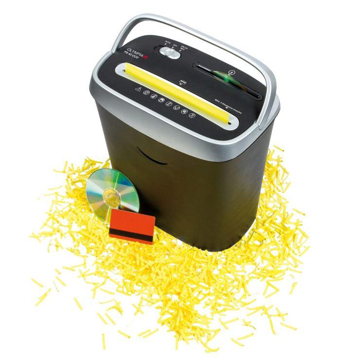 Es una trituradora de papel realmente compacta, tiene una capacidad mediana puede ser usada en pequeñas o medianas oficinas y es bastante eficaz para uso doméstico.