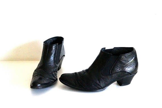0376f4e353710 PAUL GREEN handmade ankle boots Eu 37 Uk 4 US 6,5 Real leather ...