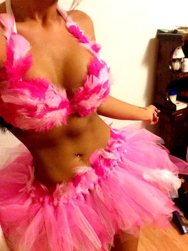 Sexy Flamingo Costume by CraftyRavey on Etsy
