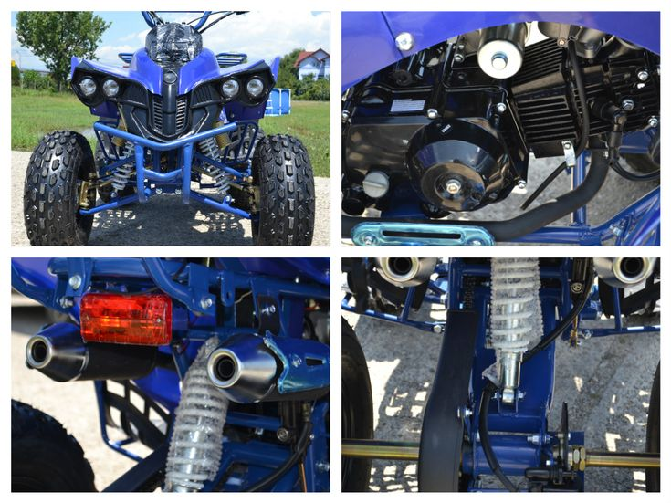 ATV 125cc NITRO Warrior Semiautomatik, Import Germania – Anunturi Muntenia
