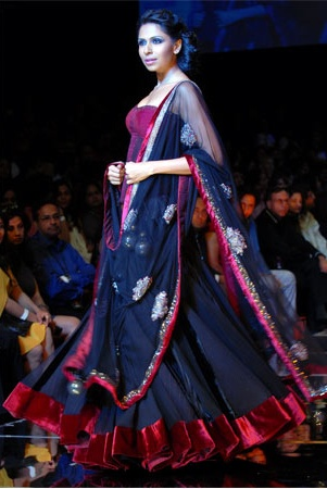 love the navy #sabyasachi 2013 bridal collection