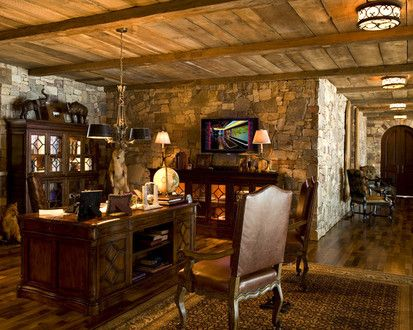 Home Office, Traditional Home Office, Minneapolis